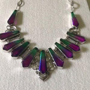 925 tourmaline necklace